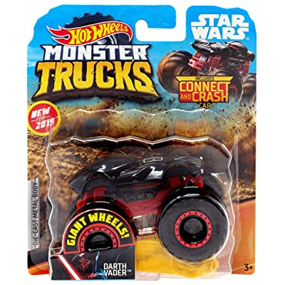 Hot Wheels 2020 Monster Trucks Darth Vader 1:64 Scale: Toys & Games