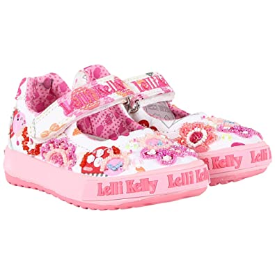0bca35da639c8 Lelli Kelly - Kids LK5000 Jackie Bar Shoes in White, 7 UK Child ...