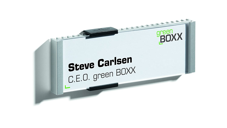 6-1//8 x 8-1//2 Inches EBRDO Aluminum DURABLE Info Sign 480323