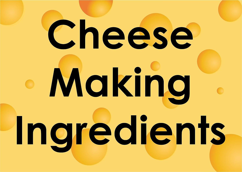 3 x Deal cuajo y queso sal Mix 6 G bolsa para cualquier tipo ...