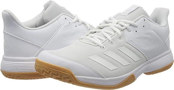 adidas Ligra 6, Zapatillas de vóleibol para Mujer, Blanc Blanc Gomme, 36 EU: Amazon.es: Zapatos y complementos