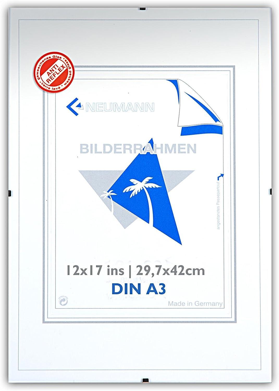 Bilderhalter Rahmenlos A 29 7 X 42 Clip Rahmen Bildträger Din A3 Mit Antireflexglas Küche Haushalt
