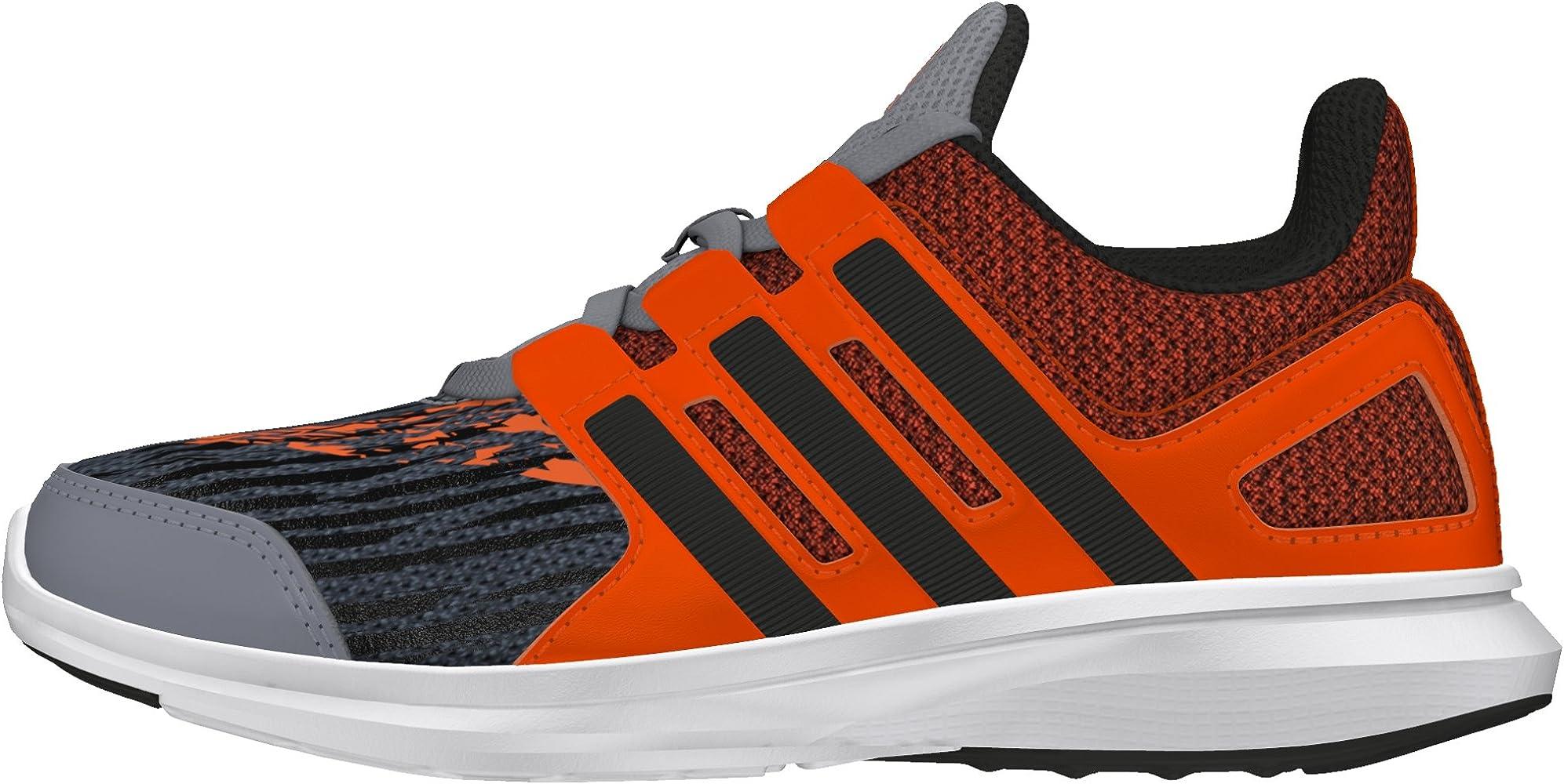 adidas Hyperfast 2.0 K, Chaussures de Sport garçon, (Gris