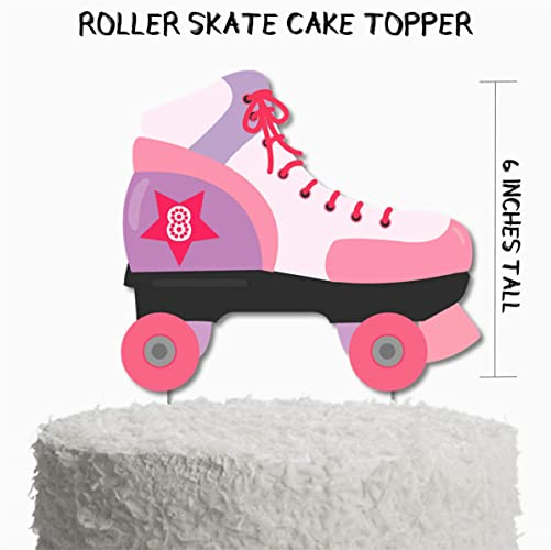 Amazon Roller Skate Birthday Party Cake Topper Skating Supplies Decorations Handmade