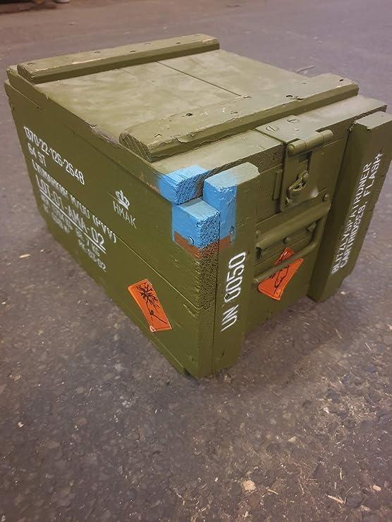 Kistenkolli M00 - Caja de munición de madera para el tesoro ...
