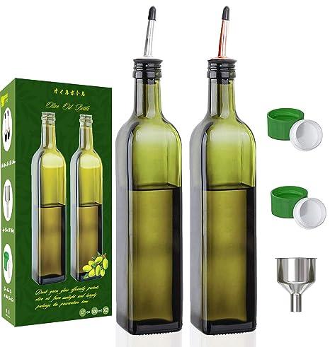 Amazon.com: Gmiusn - Dispensador de aceite de oliva, 2 ...