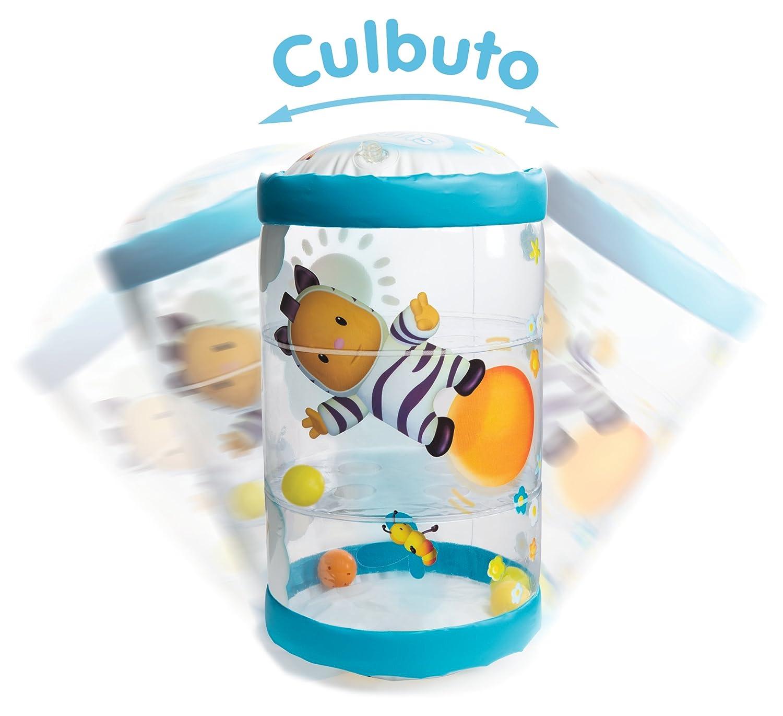110300 Bleu Smoby Cotoons Baby Roul Culbuto 2 en 1