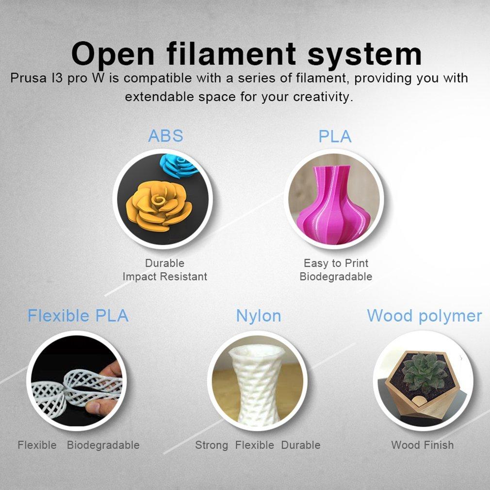 Geeetech alta precisión tamaño grande de impresión 3d impresora ...