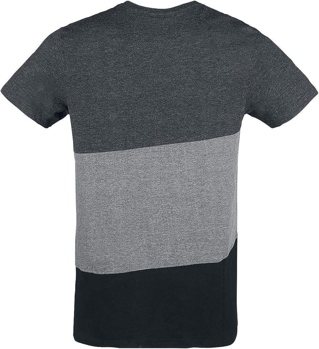 Lonsdale London Walham Camiseta Gris/Negro: Amazon.es: Ropa y ...
