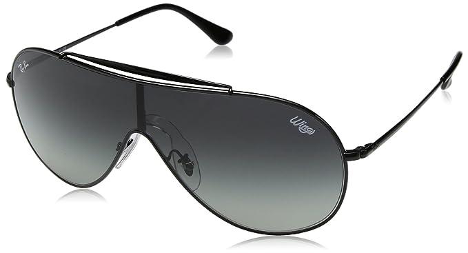 df2a8fd6878 RAYBAN Unisex s 0RB3597 002 11 33 Sunglasses