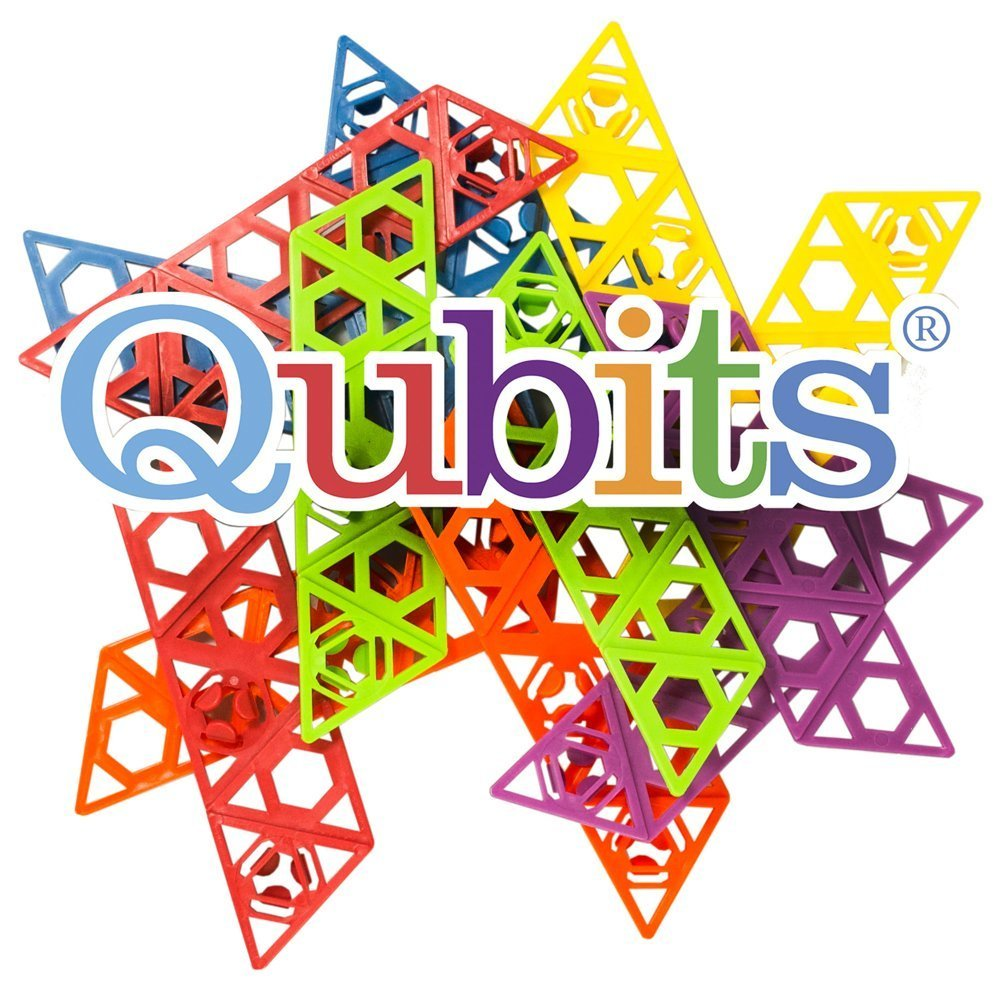 STEM Educational Toy Building Set: 42 Piece Qubits Set | Educational and Creative Alternative to Standard Building Blocks | Teaches Spatial Thinking | Imagination Builder | Made in the USA Review
