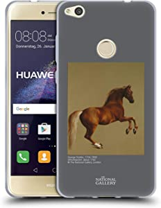Head Case Designs Officially Licensed The National Gallery Whistlejacket Nature Soft Gel Case Compatible with Huawei P8 Lite (2017)