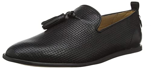 Leather SlipperSchwarzSchuhe Comber Comber SlipperSchwarzSchuhe Herren Hudson Hudson Herren Leather 0knO8Pw