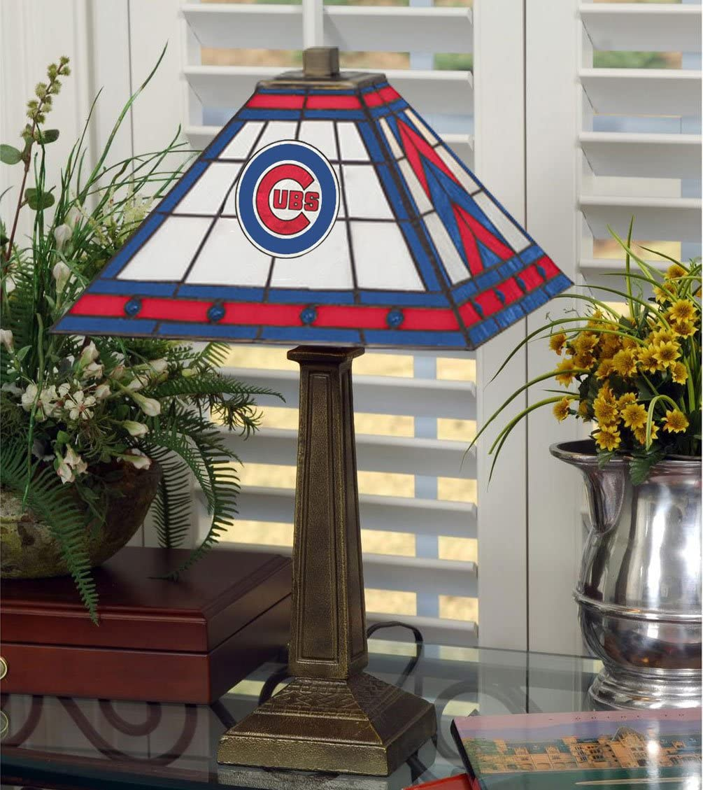 Chicago Cubs 23 Mission Lamp