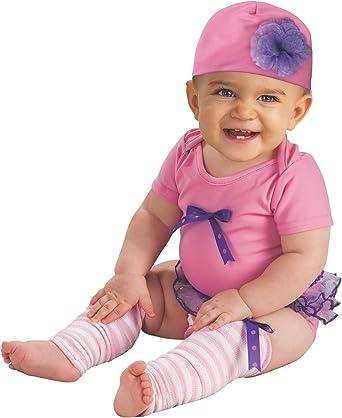 Onesie Baby Girl Pink//Purple Hat Newborn