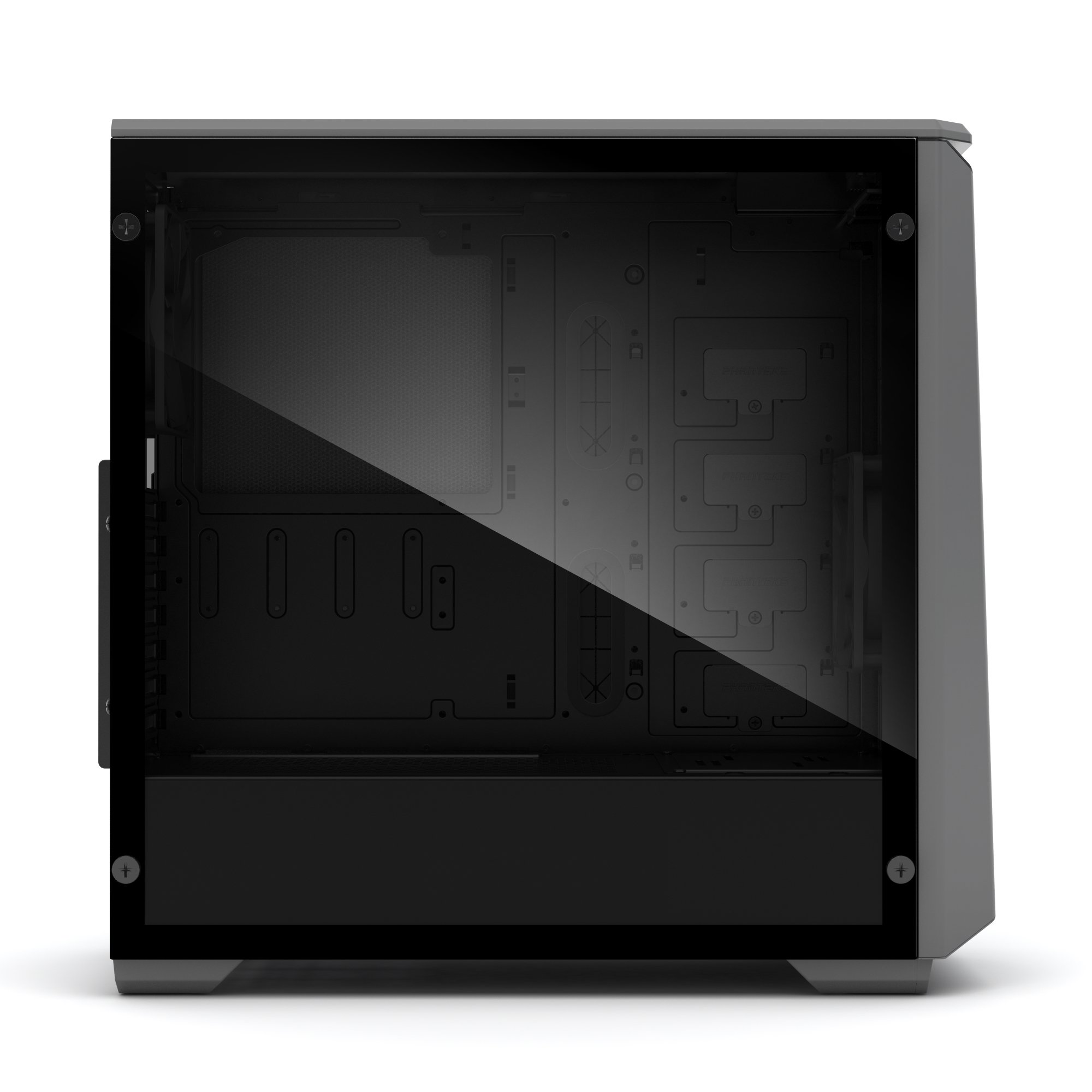 Phanteks PH-EC416PSTG_AG Eclipse P400S Silent Edition with Tempered Glass, Anthracite Grey Cases by Phanteks (Image #7)