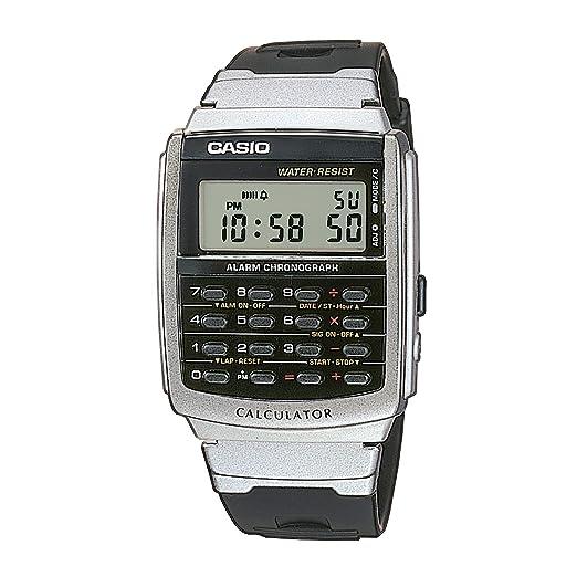 Casio Reloj Digital para Hombre de Cuarzo con Correa en Resina CA-56-1ER: Amazon.es: Relojes