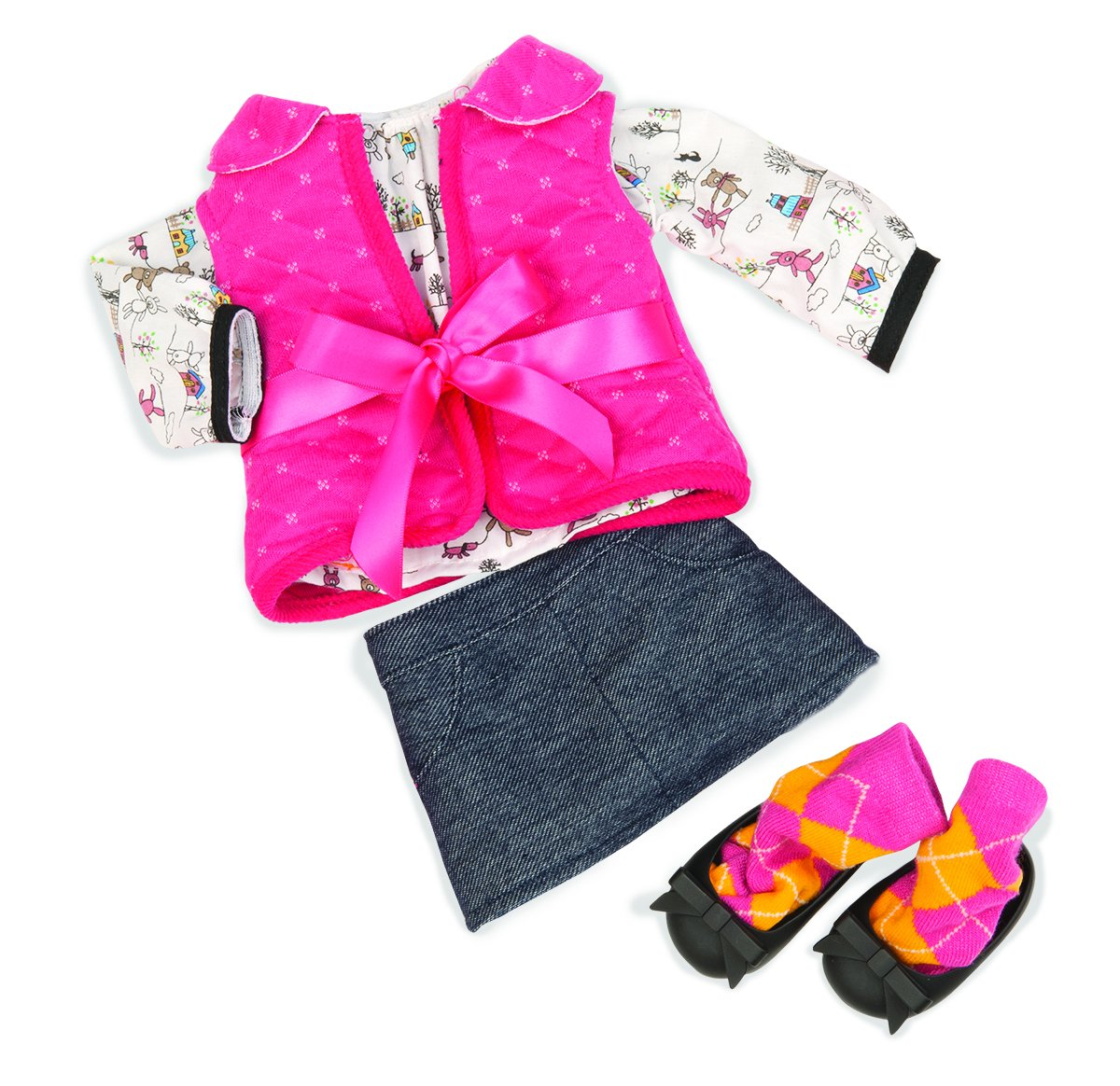Our Generation 18-inch Cabin Chic Regular Doll Outfit Battat BD30120Z
