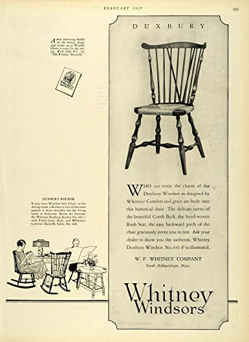 Magnificent Amazon Com 1927 Ad Whitney Windsors South Ashburnham Unemploymentrelief Wooden Chair Designs For Living Room Unemploymentrelieforg