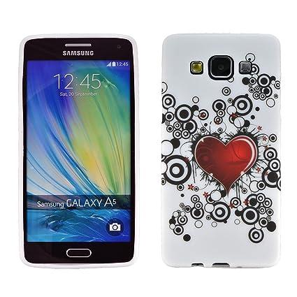 zkiosk® 2172010 Samsung Galaxy A5 Carcasa diseño corazón ...