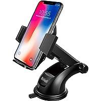 Beikell autohouder voor smartphone met eenknopsvergrendeling en sterk hechtende gelpad voor iPhone X/8/7/7 Plus/6S/6S…