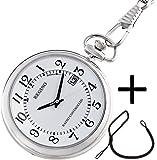 [シチズン]CITIZEN ポケットウォッチ REGUNO レグノ ソーラーテック 電波時計 KL7-914-11と懐中時計専用 HBR-1房なし ブラウンのセット