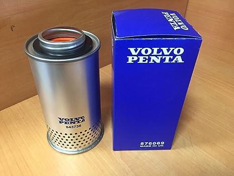 Kurbelgehäuse Filter für Volvo Penta AD30 AD31 Ro:876069 875850 843736