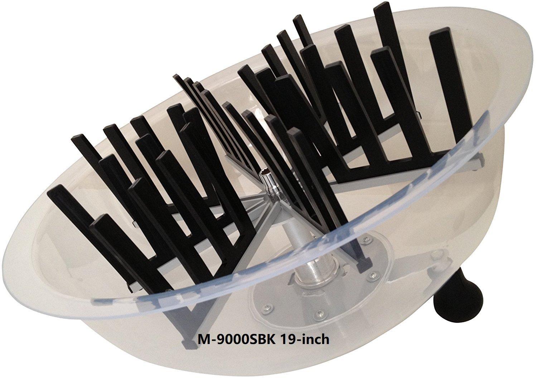 The Clean Cut M-9000S Series Bowl Leaf Trimmer M-9000SBK 19-inch Hydroponic Spin Cut Bud Flower Leaf Bowl Trimmer