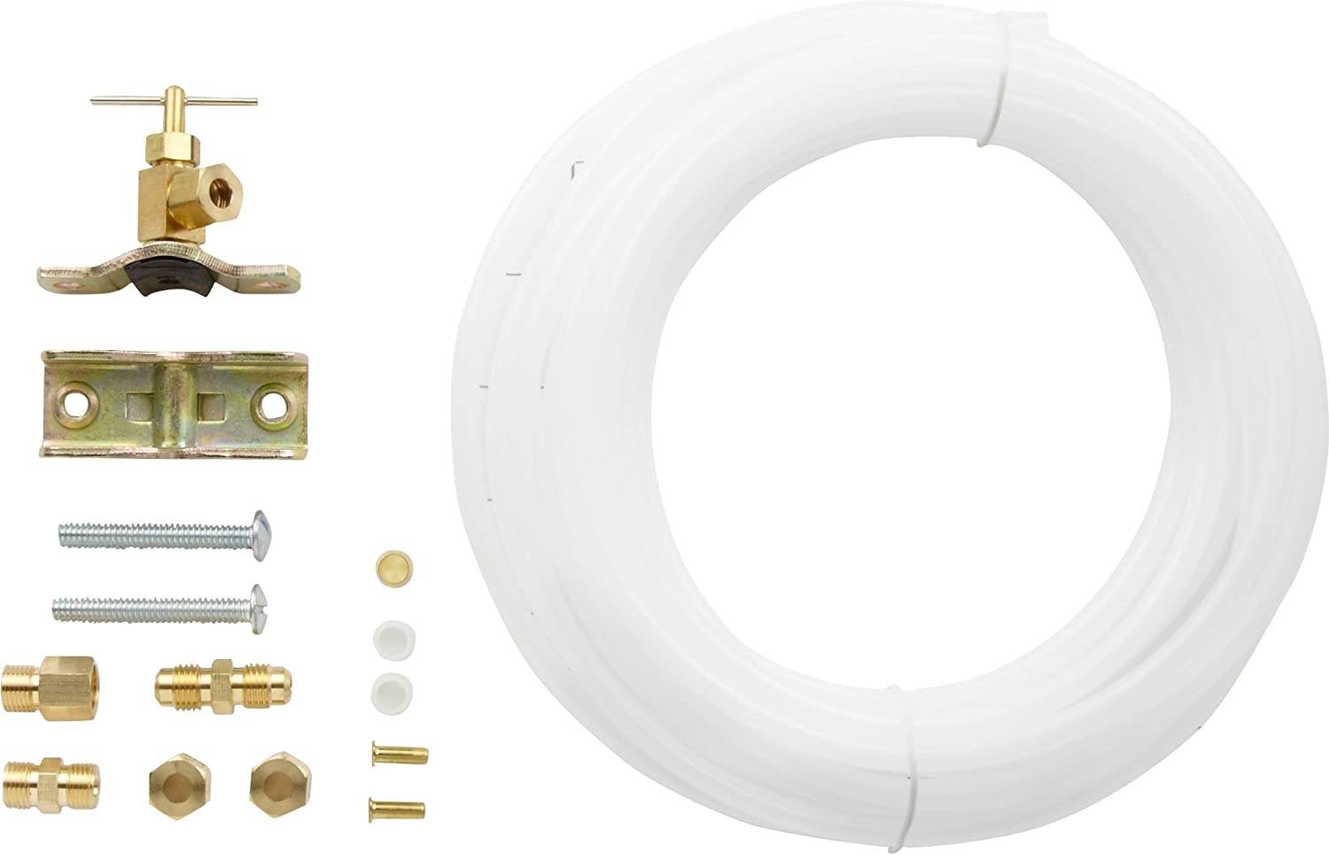 Supco PT25 Ice Maker Kit With Self Tapping Valve For IST3, TJ9PIMKIT25, AP4494524, 25002612 (1-Pack)