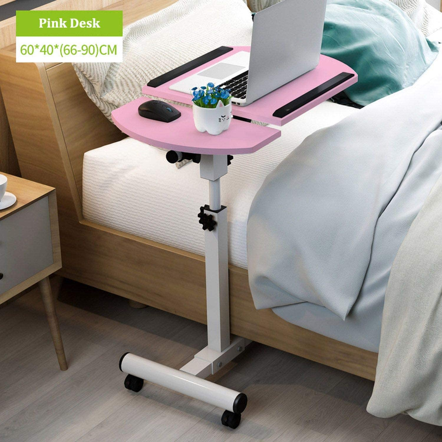 Amazon.com : Home Foldable Laptop Table Adjustable Bedside Table
