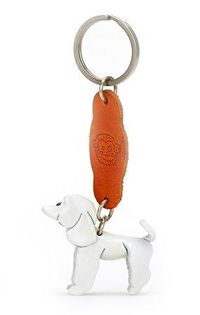 Monkimau 8008 Caniche Perro de S Llavero Figura 5 cm Hecha a ...