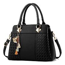 Charmore Womens Handbags Ladies Purses Satchel Shoulder Bags Tote Bag