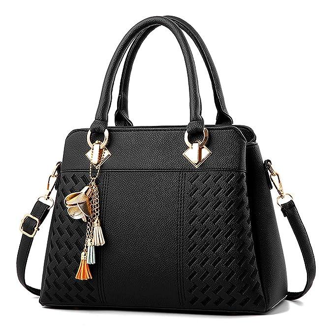 Charmore Women s Handbags Top Handle Satchel Shoulder Bags Totes ... 734e604dd75f8