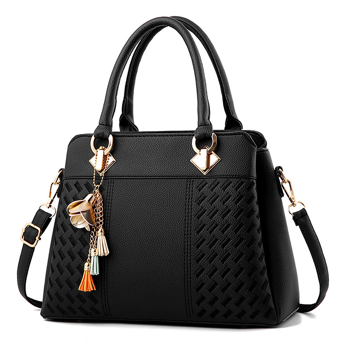 Amazon.com  Charmore Womens Handbags Ladies Purses Satchel Shoulder Bags  Tote Bag  Shoes 43868d84dc80d