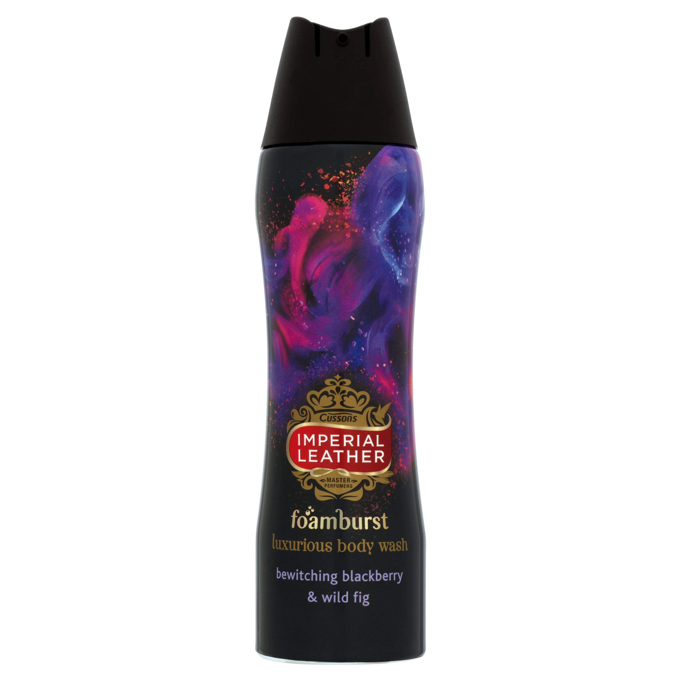 Imperial Leather Foamburst Bewitching Blackberry and Wild Fig Luxurious Body Wash 200 ml - Pack of 6
