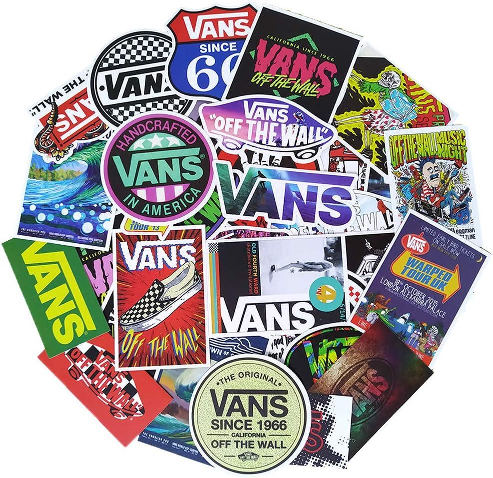 Ratgoo 100Pcs Trendy Waterproof Vinyl Popular Funny Sports Stickers Decals Pack for Vans Motorcycle Car Luggage Phone Guitar MacBook Water Bottle Flasks Bike Laptop Motocross Girls Kids Teens Boys.