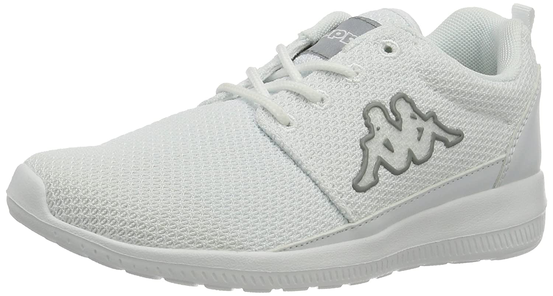 Kappa Speed II, Zapatillas Unisex Adulto 45 EU Blanco (1014 White/L′grey)