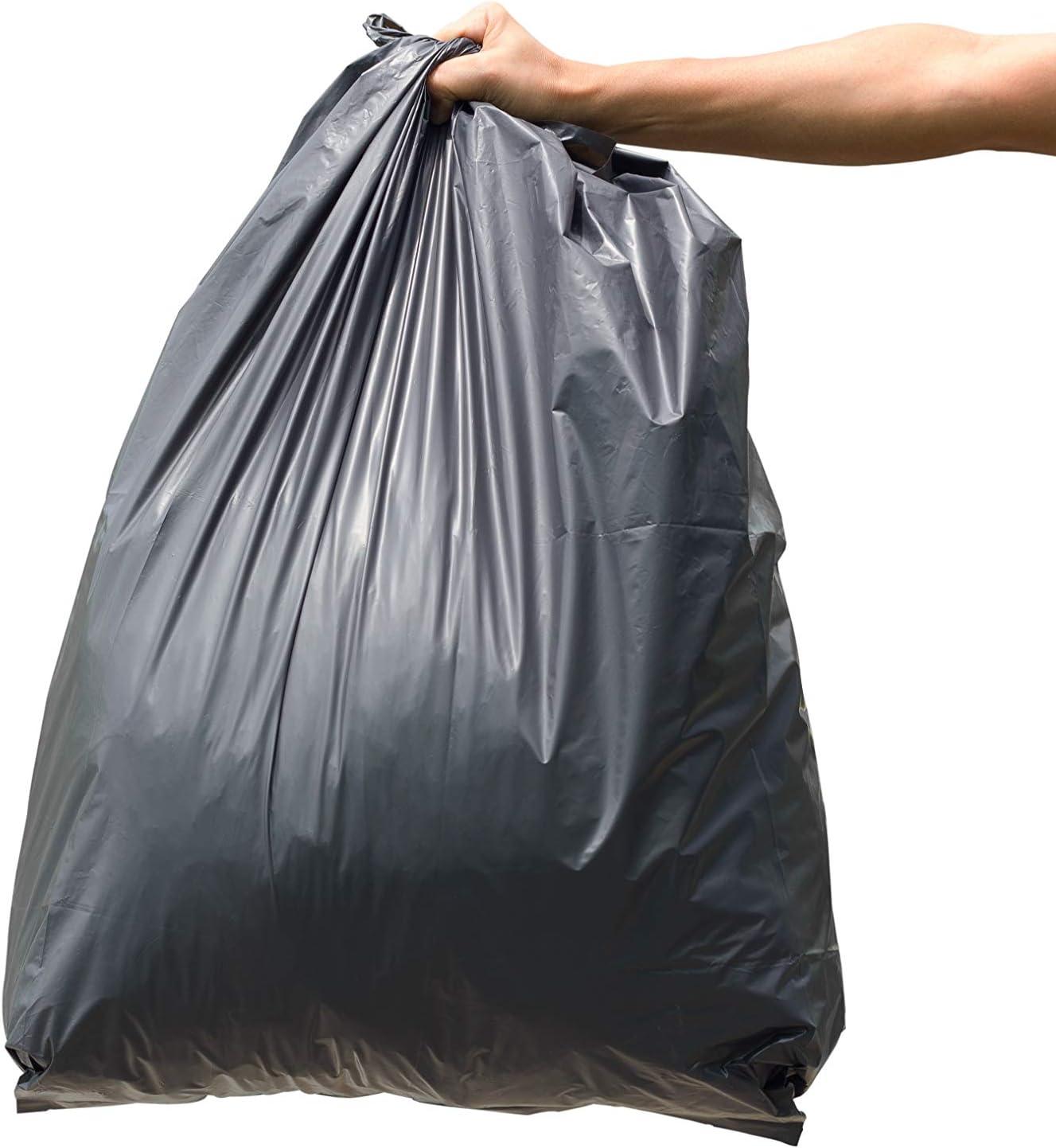 50 Gal 150 Count 55 Gallon Trash Bags Heavy Duty 55 Gallon Trash Bags with Handles Reli 50 Gallon - Black 55 Gallon Drum Liners 60 Gallon 55 Gal