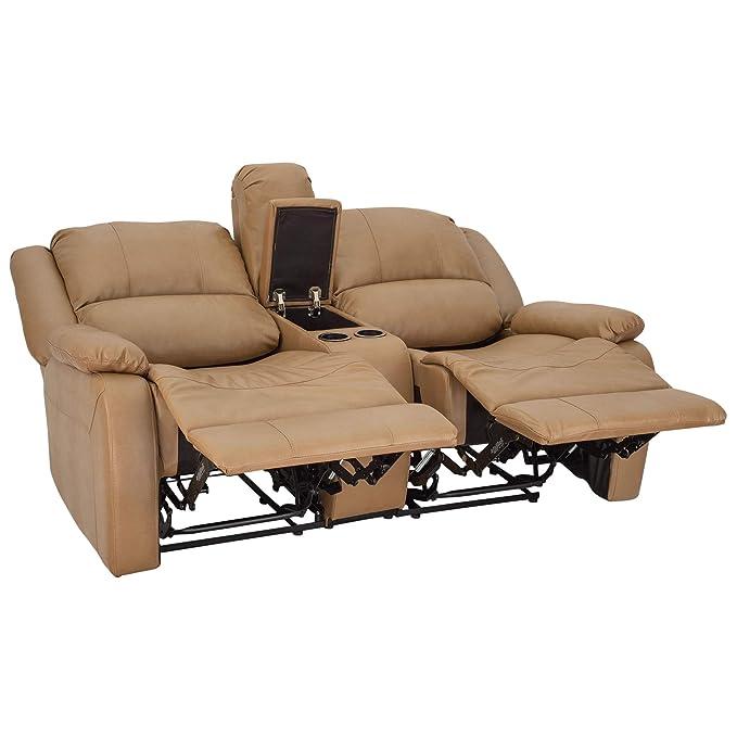 Amazon.com: RecPro Charles - Sofá reclinable de pared doble ...
