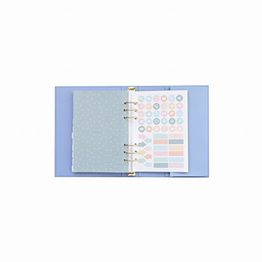 Amazon.com: Mr.Wonderful 18-19 Hebximaire Blue Ring Binder ...