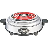 Warmex Home Appliances Electric Stove 1000 Watts (Silver)