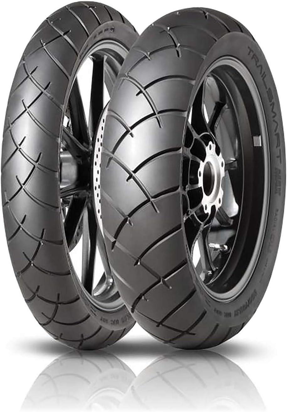 Coppia gomme pneumatici Dunlop Trailsmart Max 120//70 ZR 19 60W 170//60 ZR 17 72W