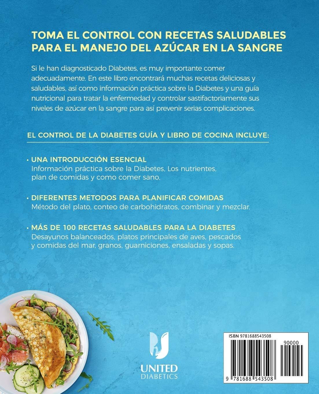 libro de recetas de diabetes para niños