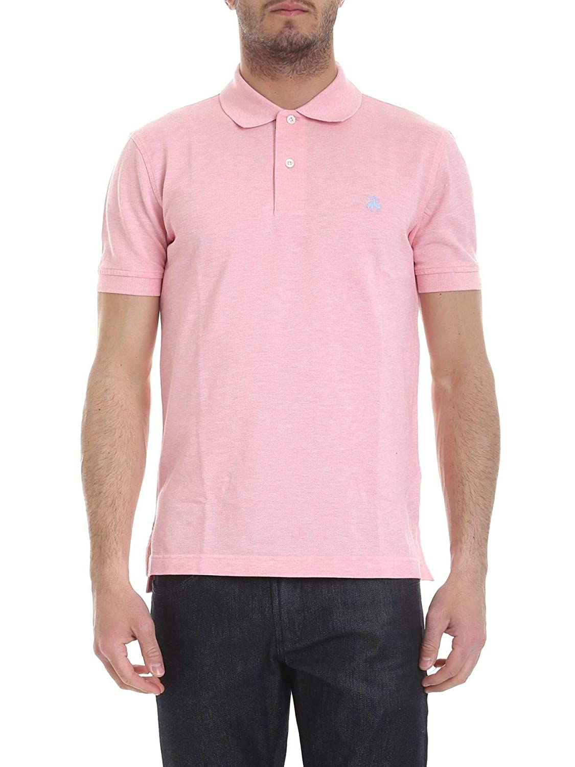 Brooks Brougehers Luxury mode Homme 100126531 Rose Polo   Printemps été 19