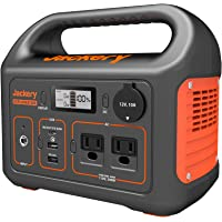 $299 » Jackery Portable Power Station Explorer 300, 293Wh Backup Lithium Battery, 110V/300W…