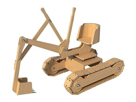 Amazon Com Kids Riding Backhoe Toy Plans Diy Woodworking