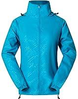Cheering Women's Lightweight Jackets for Women Waterproof Windbreaker Jacket Super Quick Dry UV Protect Running Coat