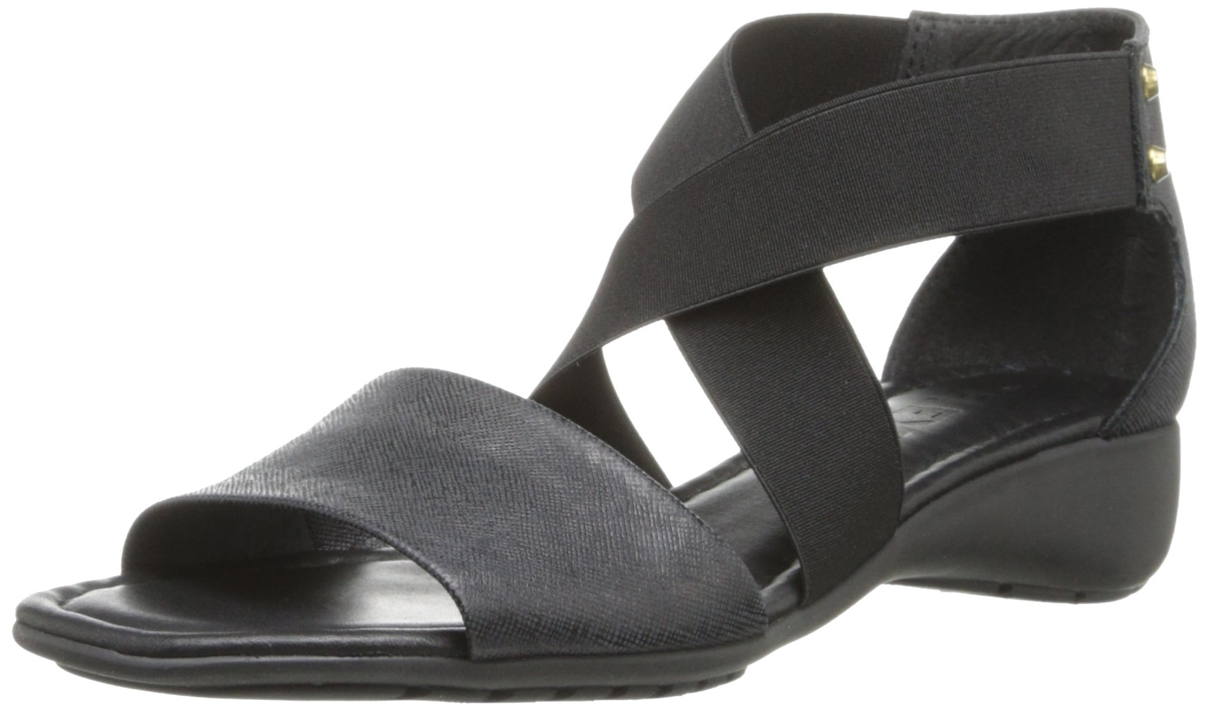 The Flexx Women's Sunglass Wedge Sandal,Black,9.5 M US