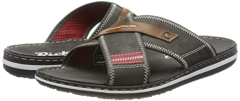 Rieker Herren 21053 45 Pantoletten: : Schuhe