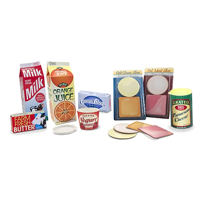 Top 9 Melissa  Doug Fridge Food Set